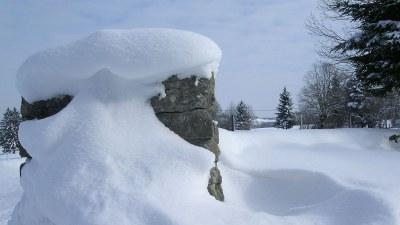 En hiver vers la Closure - Photo Claude Schneider - Copyrigth