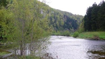 Le Doubs à Fuesse - Photo Claude Schneider - Copyrigth