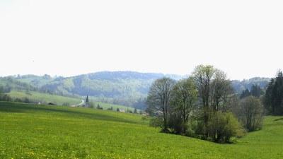 Découvrir arrivant des Plains et Grands Essarts, Courtefontaine 3 - Photo Claude Schneider - Copyright