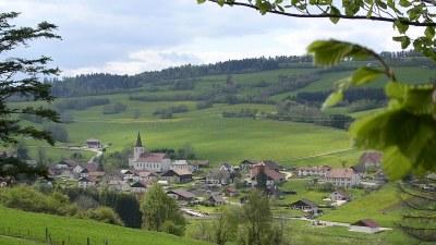 Vue depuis le versant Nord 2 - Photo Claude Schneider - Copyright