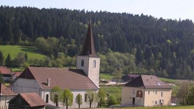 Eglise, Mairie - Photo Claude Schneider - Copyright