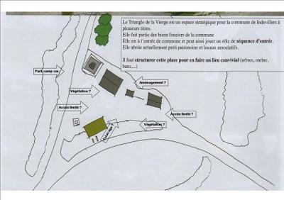 Projet aménagements Place de la Vierge
