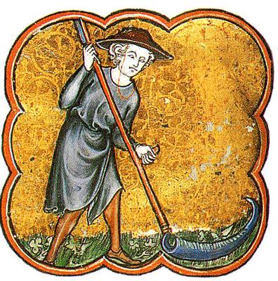 Condition paysanne Moyen âge