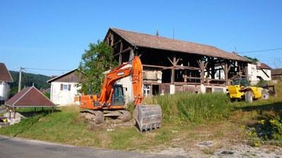 Demolition maison au lavoir 1 2013