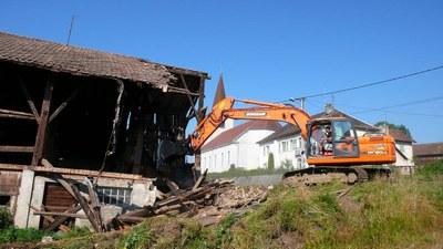 Demolition maison au lavoir 2 2013