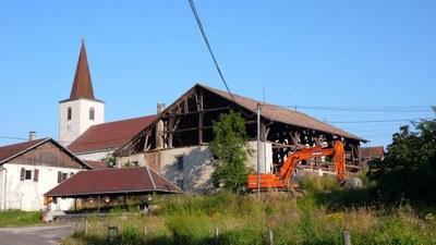 Demolition maison au lavoir 2013