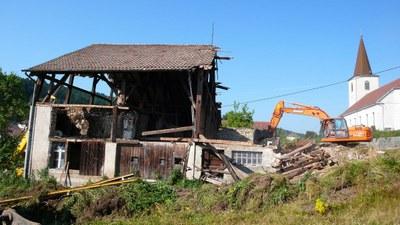 Demolition maison au lavoir 3 2013