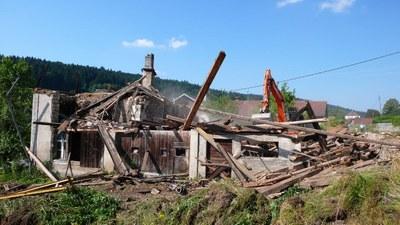 Demolition maison au lavoir 4 2013