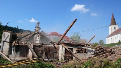 Demolition maison au lavoir 5 2013