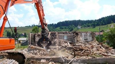 Demolition maison au lavoir 7 2013