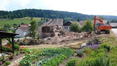 Demolition maison au lavoir 8 2013