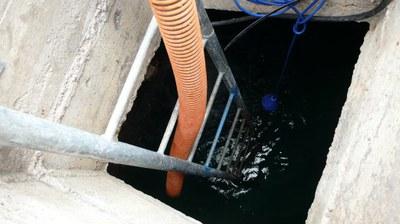 Suivi du niveau d'eau du réservoir